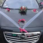 Dekoracje samochodów na ślub 4