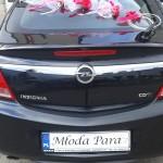 Dekoracje samochodów na ślub 1