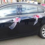 Dekoracje samochodów na ślub 3