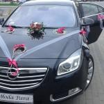 Dekoracje samochodów na ślub 5